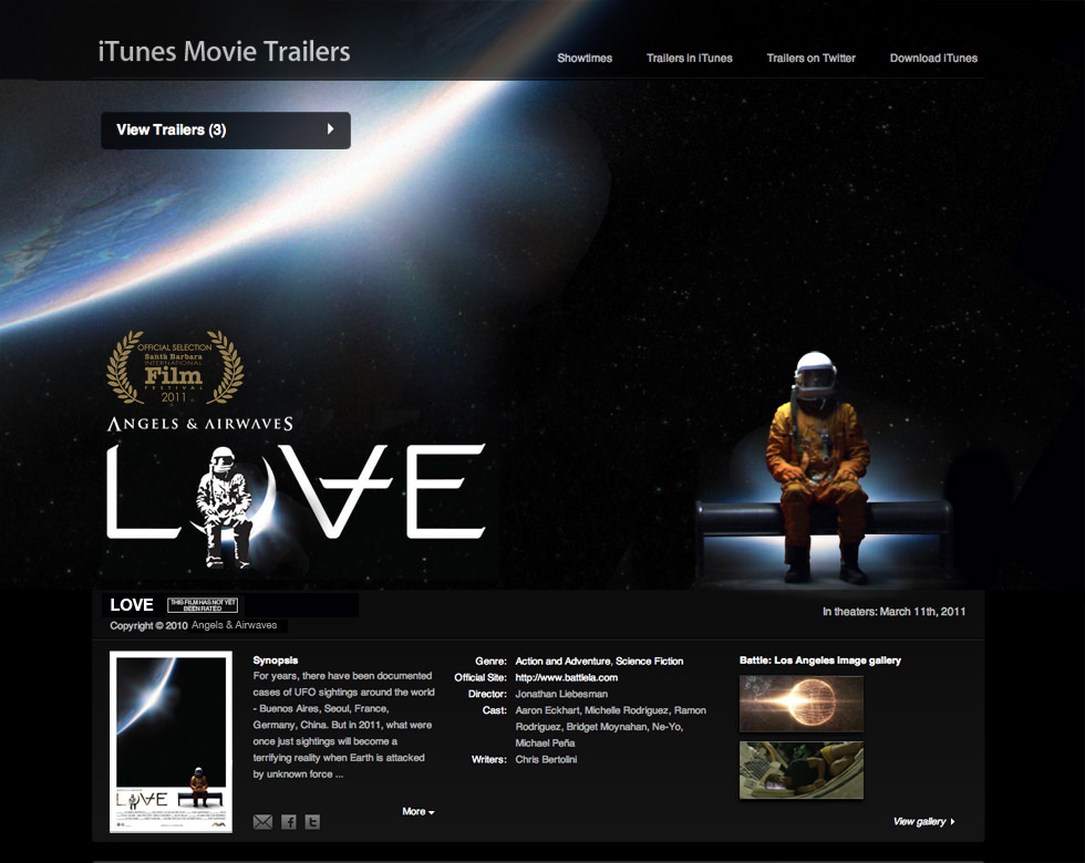 AvA LOVE movie trailer SBIFF2