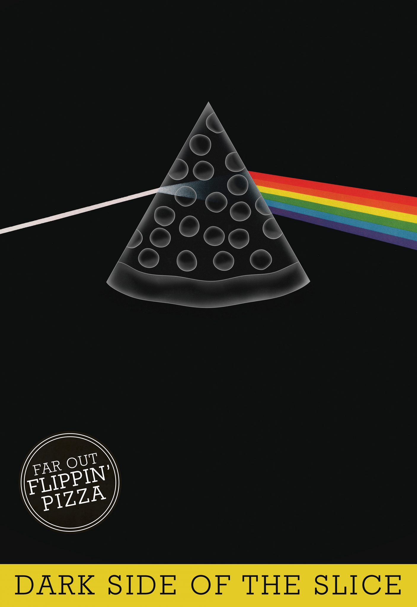 Flippin' Pizza Dark Side of the Slice