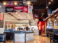 Flippin Pizza Long Beach Interior