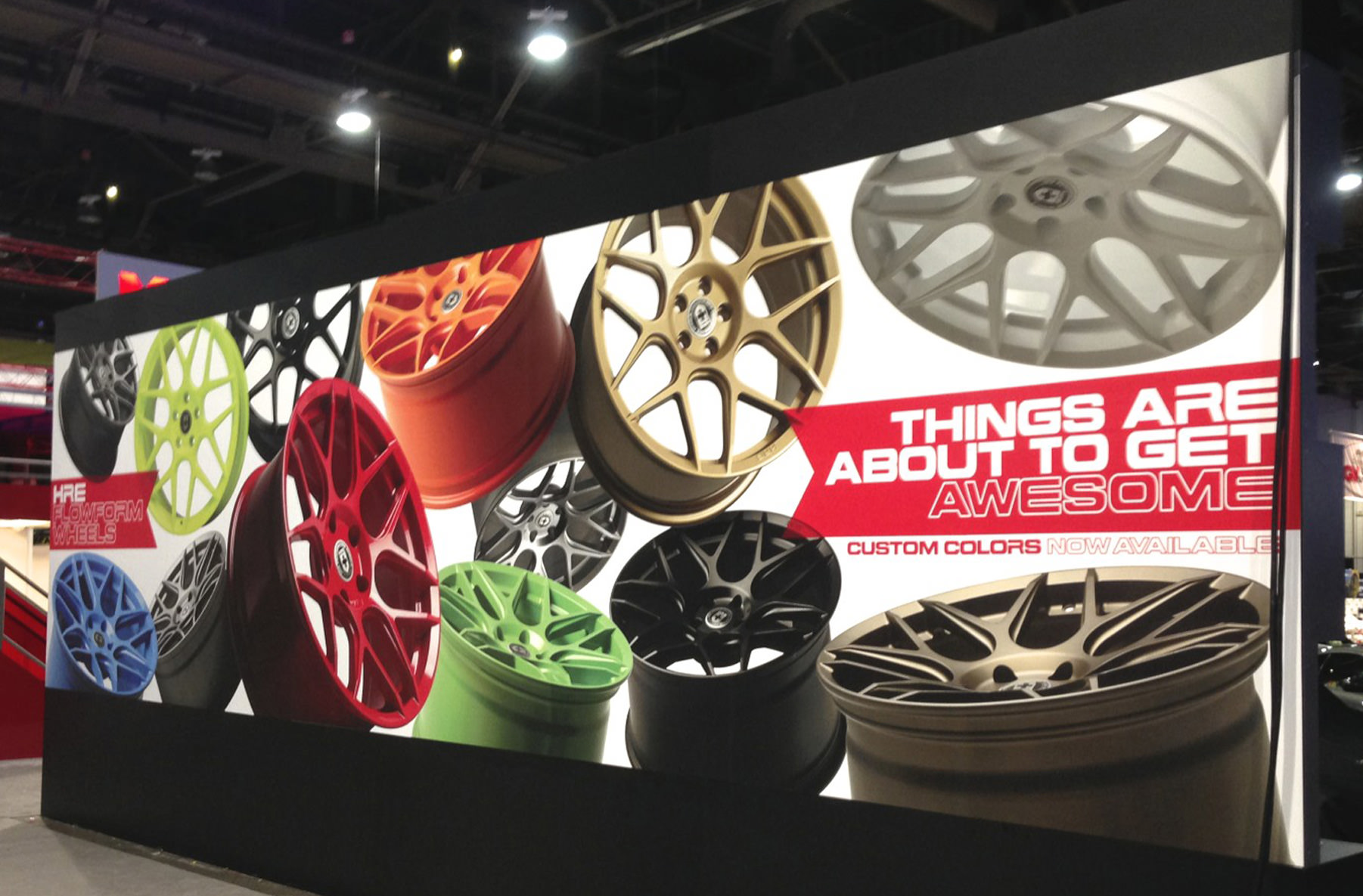 FlowForm Wheels SEMA Display