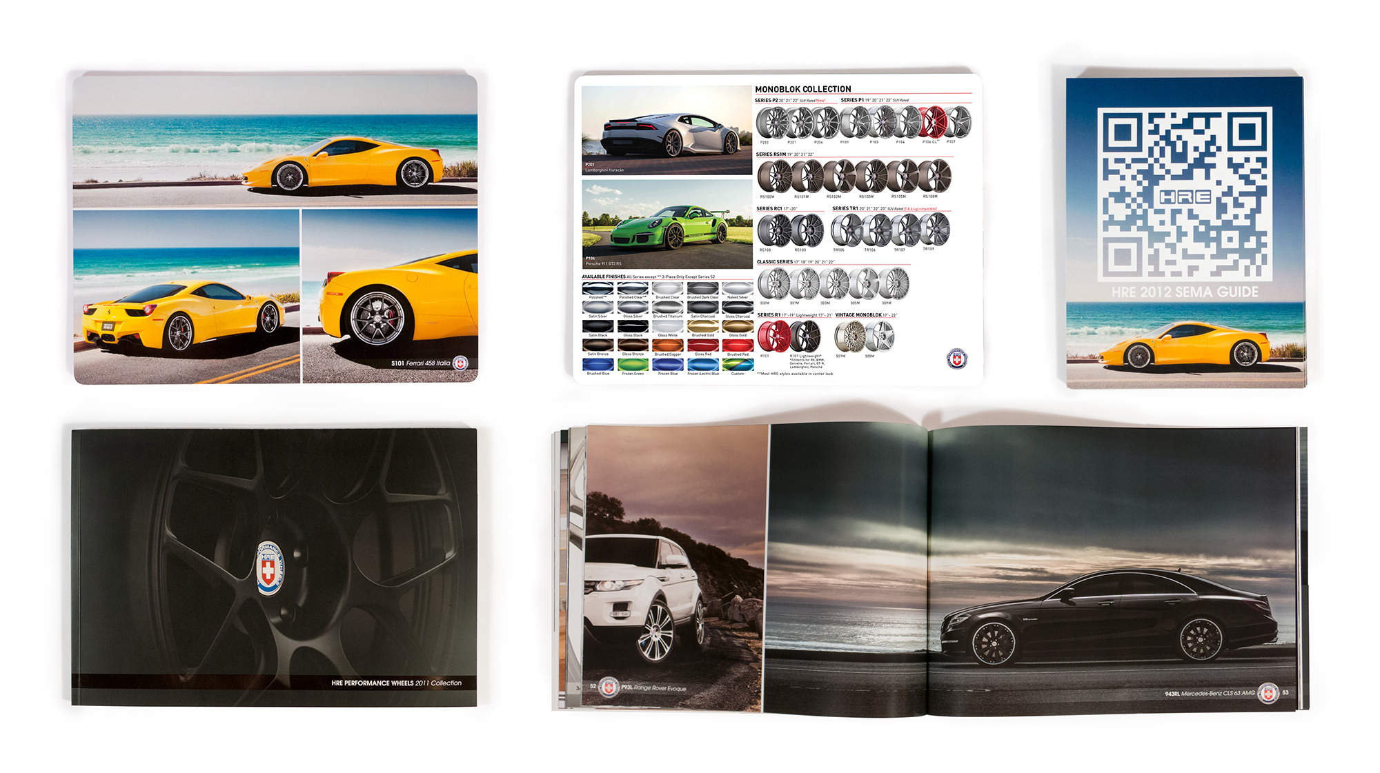 HRE Print Collateral