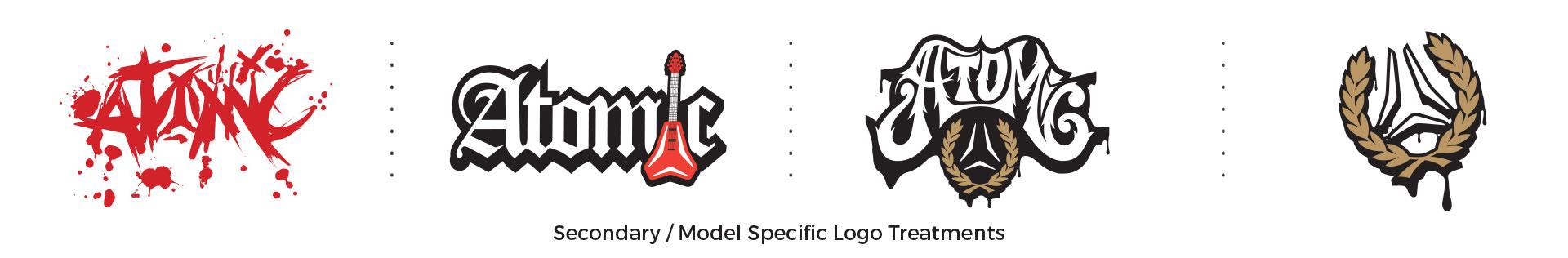 Atomic Line Logos