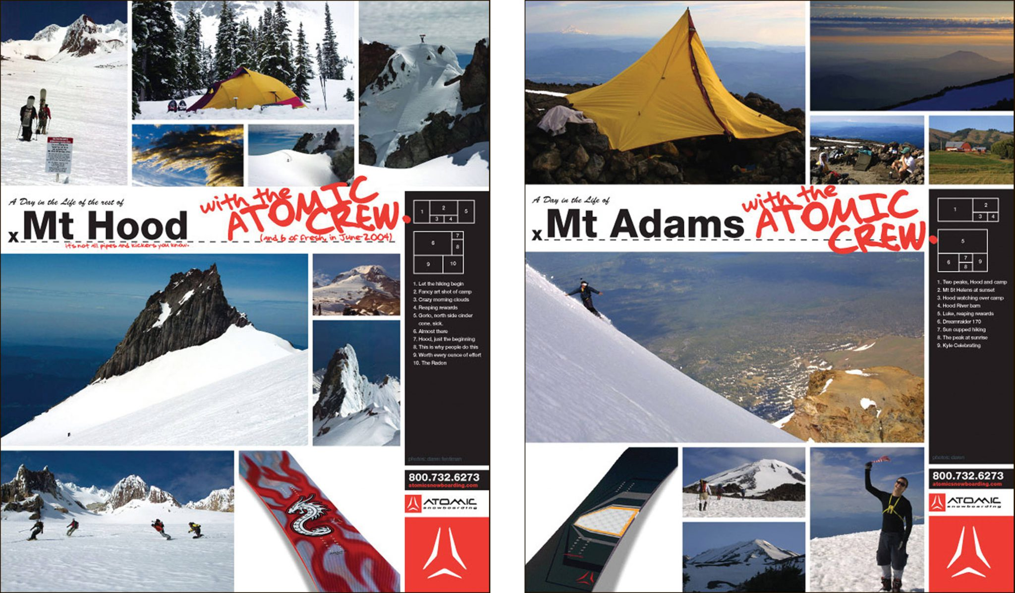 Atomic Freeride Ad Campaign