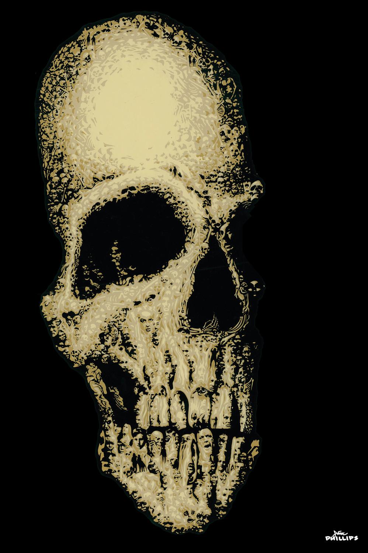Jim Phillips Skull