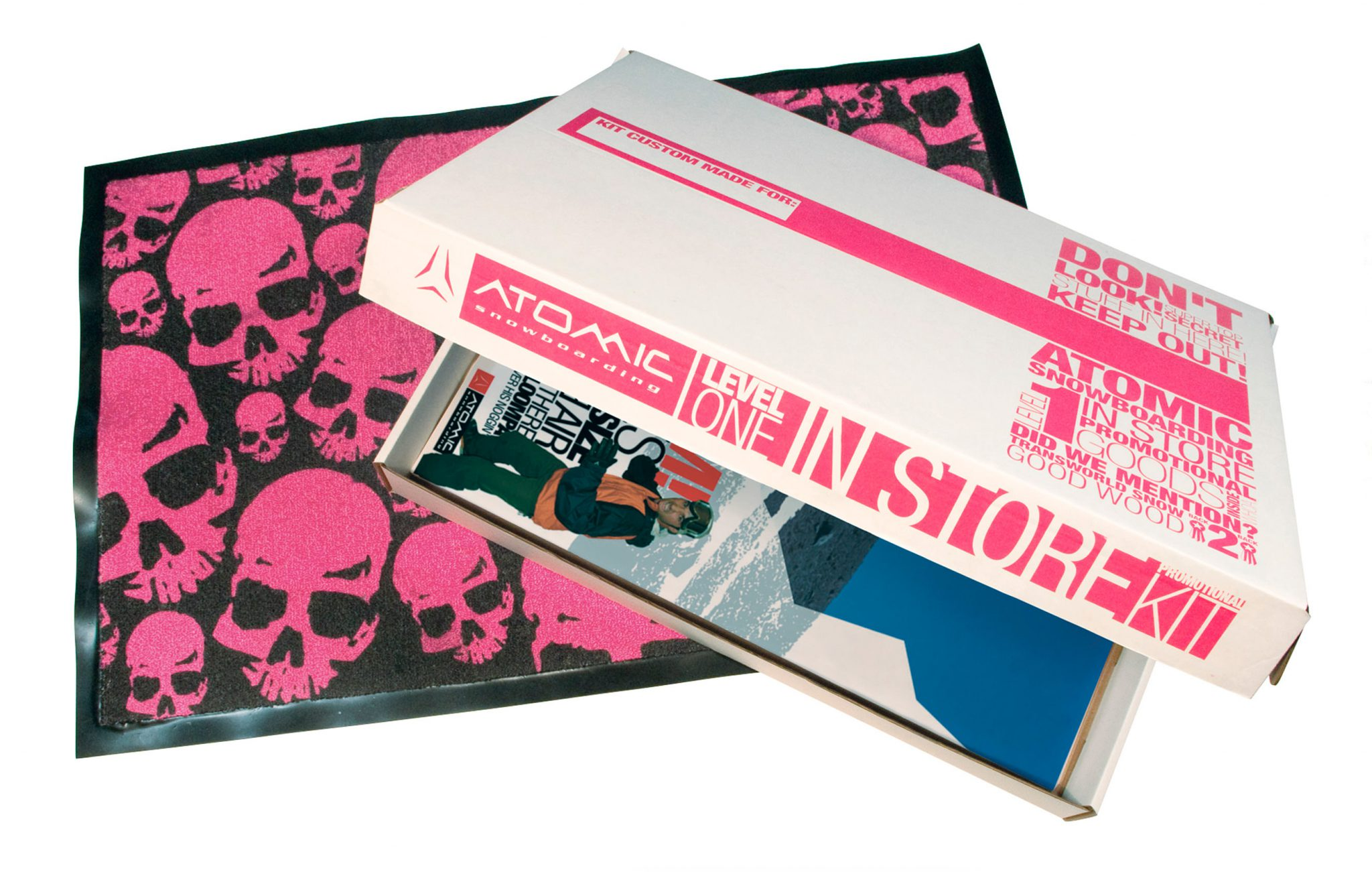 Atomic Snowboarding - Shop Promo kit
