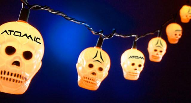 Atomic Snowboarding - Skull Lights POP