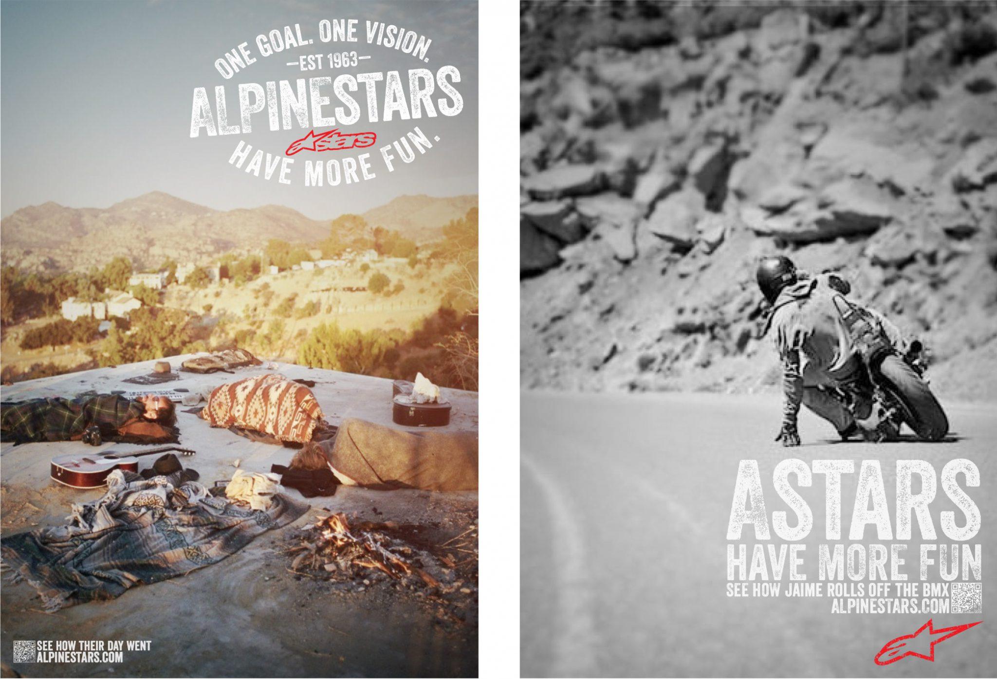 Alpinestars Lifestyle Ad