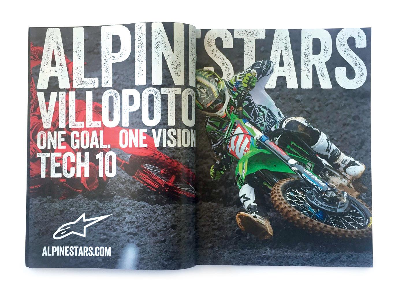 Alpinestars Villopoto Ad RacerX