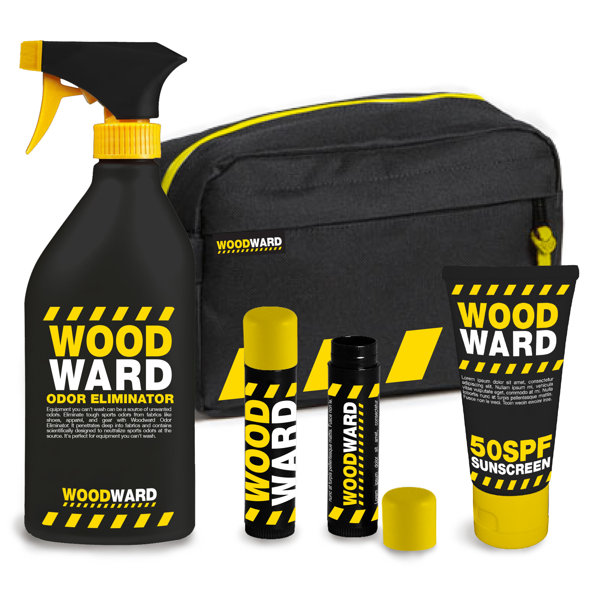 Camp Woodward Packaging