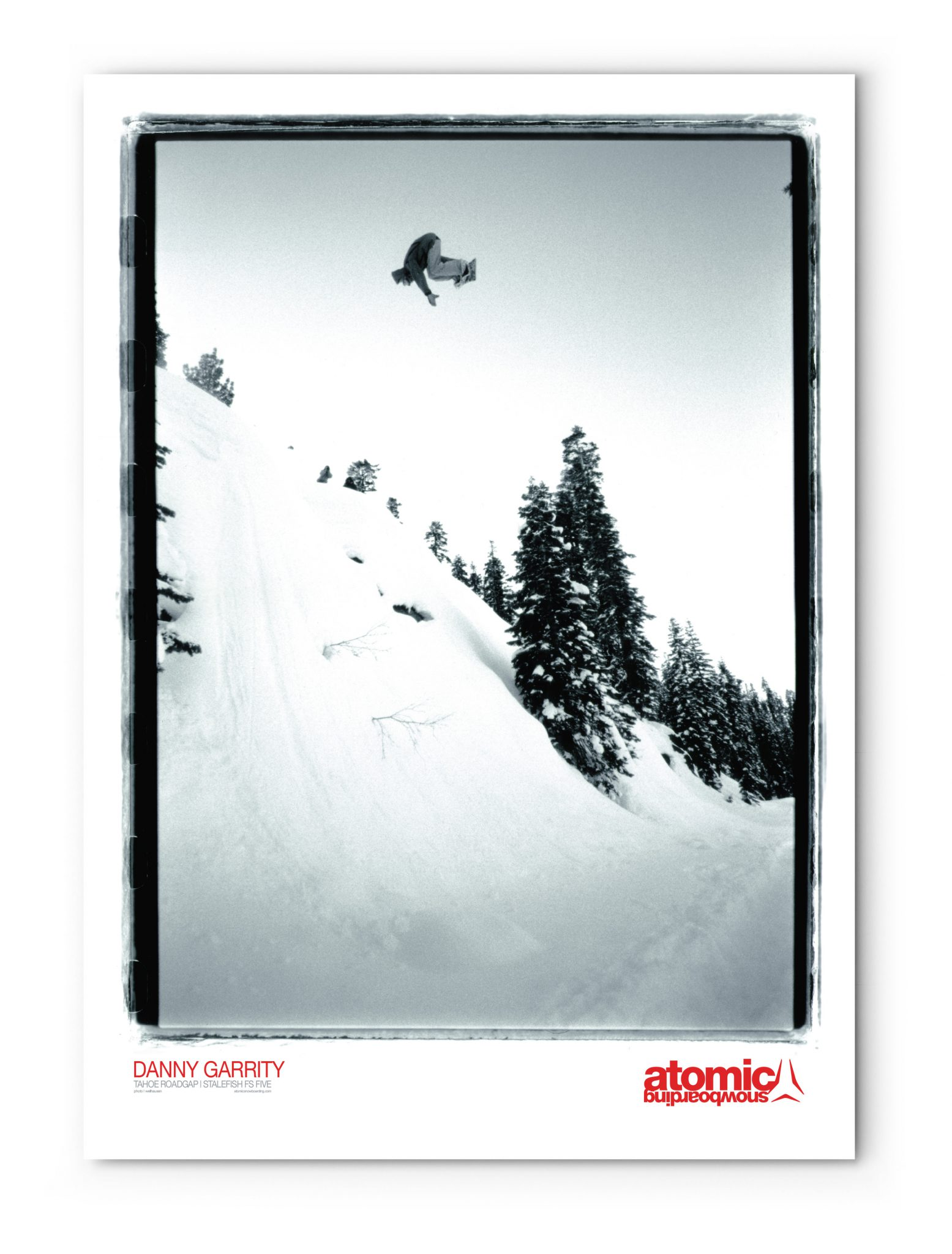 Atomic Snowboarding - Promotional Poster (Danny Garrity)