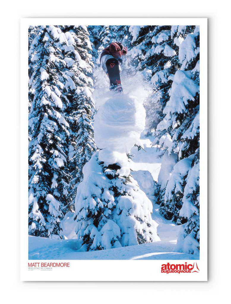 Atomic Snowboarding - Promotional Poster (Matt Beardmore)