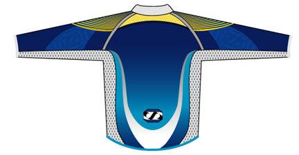 Jet Pilot - Motocross Jersey (back)