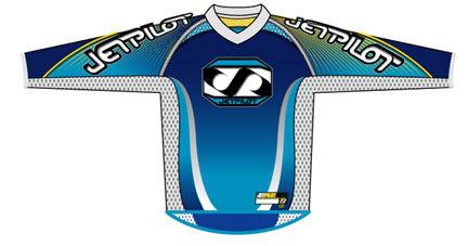 Jet Pilot - Motocross Jersey (front)