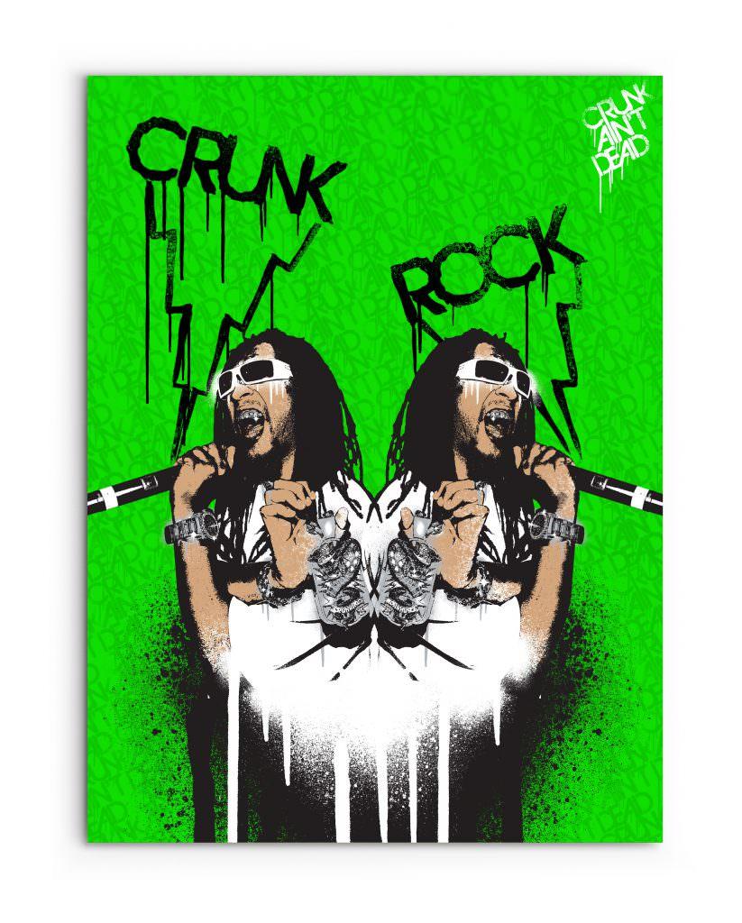 Lil Jon - Crunk Rock Poster