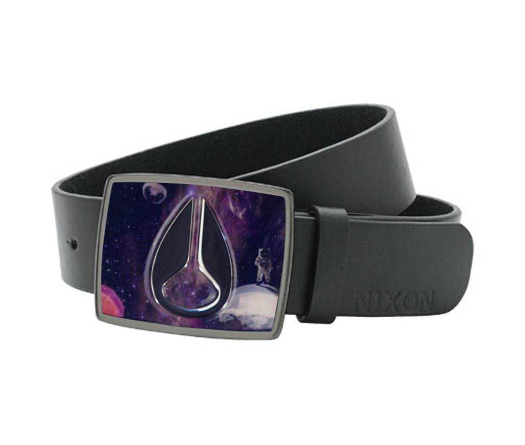 Nixon Space Enamel Buckle Belt
