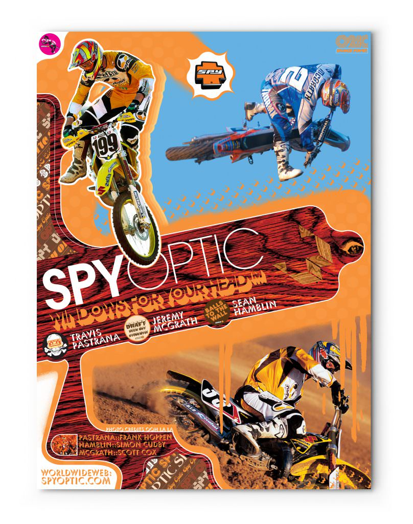 Spy Optic Mx Poster