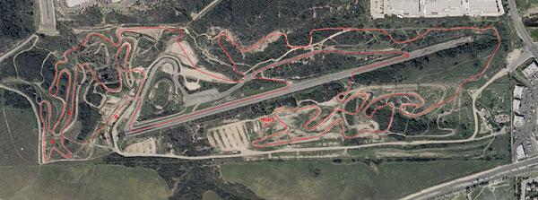 Carlsbad Raceway GP Track