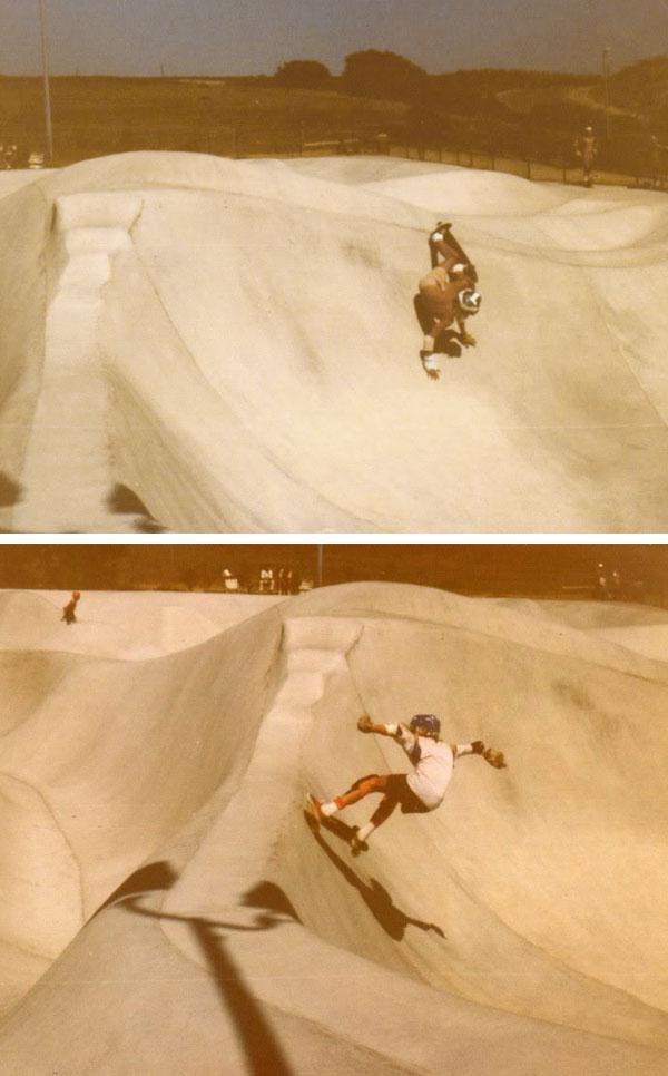 Carlsbad Skatepark layback slasher