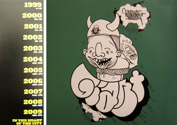 Upper Playground: 10 Years of T-Shirt Graphics - Mike Giant