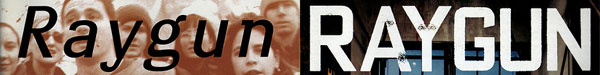 Raygun Magazine - David Carson, typography