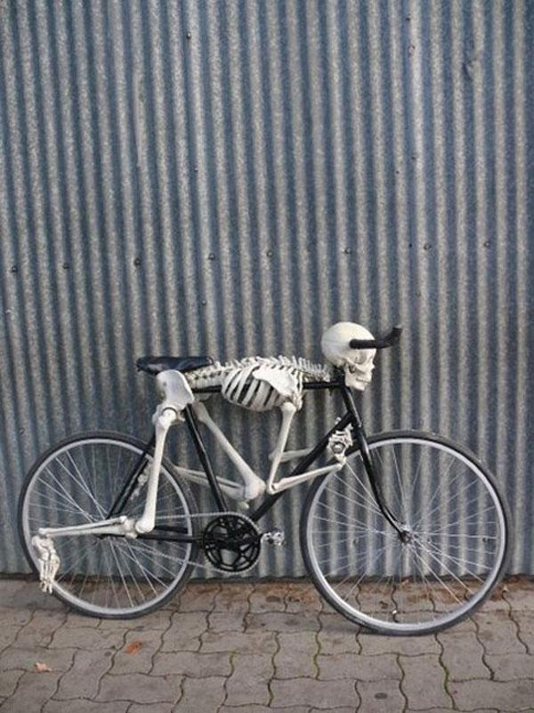 Skeleton Bike by Eric Tryon