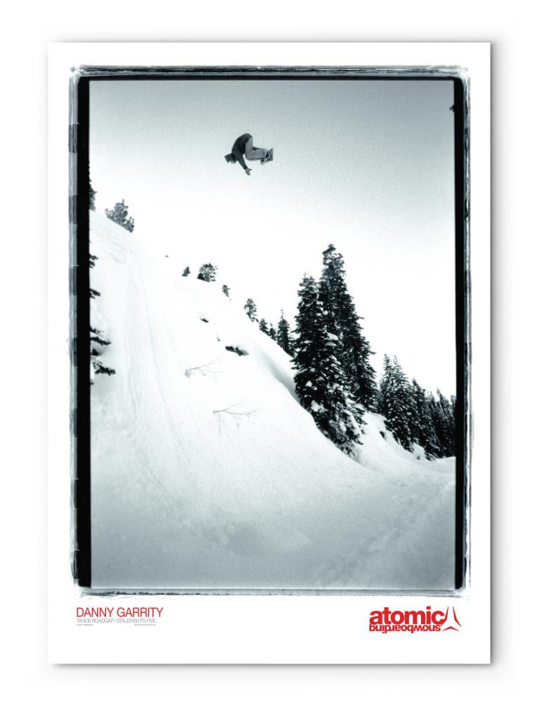 Atomic Snowboarding - Promotional Poster (Danny Garrity)